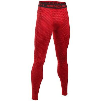 Legging de compression Under Armour Heatgear imprimé Rouge pour homme
