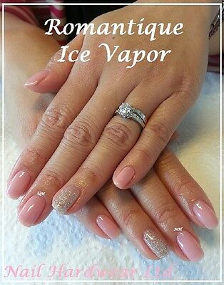 Bluesky Romantique Pink Nude French Ice Vapor Silver Gel Polish Christmas Party