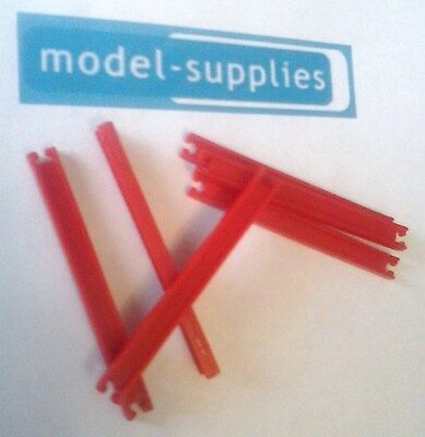 Matchbox reproduction 58C DAF red plastic girders set of 6