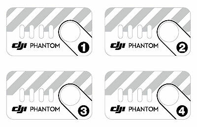 DJi Phantom Battery Ident Decal Sticker