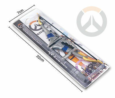 OW Decoration Hanzo Weapon Cosplay Bow and arrow In Box
