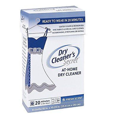 New Dry Cleaner's Secret at Home Stain Remover for Cleaning Delicate Clothes