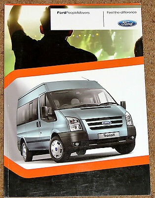 2009 FORD PEOPLE MOVERS Sales Brochure - Transit, Minibus, Torneo Torneo Connect