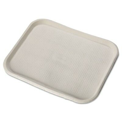 Chinet Savaday Molded Fiber Food Trays, 14 Inches x 18 Inches, White, Rectangula