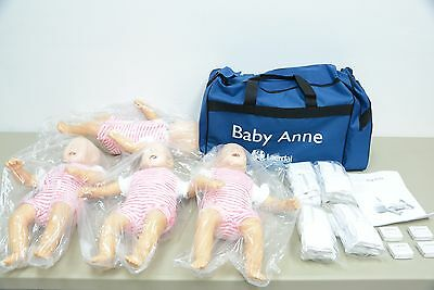 Laerdal Baby Anne Four Pack Manikin AMT CPR ACLS EMT Medical