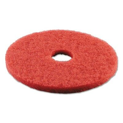 Standard 18-Inch Diameter Buffing Floor Pads, Red - PAD 4018 RED