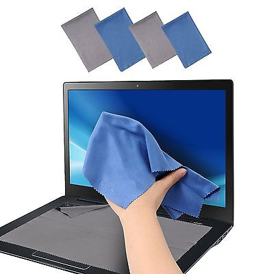 Large 4-Pack Microfiber Cleaning Cloth For Camera Lens Eyeglass Glass Phone i...