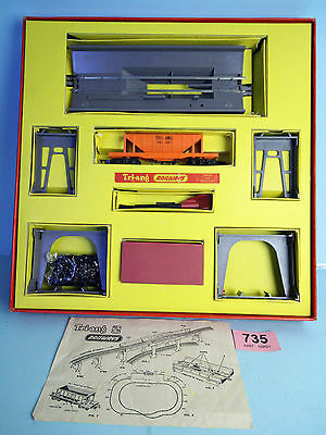 TRIANG RAILWAYS R135 OPERATING ORE WAGON SET NOS BOXED RARE #735r