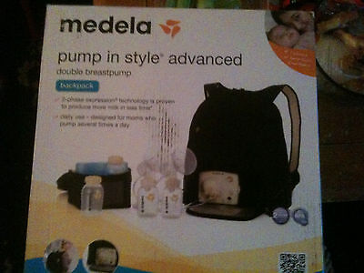 Medela Pump In Style Advanced Breast Pump backpack - NEW - Opened box.
