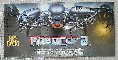 Robocop 2, Advertising Poster, Peter Weller, '90