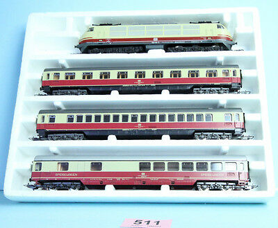 Lima 'ho' Gauge Continental Db Train Pack Boxed Sold For Spares/repair #511