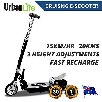 Smart Kids Electric Scooter Height ADJUSTABLE FOLDABLE Cruise 140 W, 24V Fast