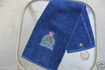 PETERBOROUGH/LAKEFIELD COMMUNITY POLICE*Golf Towel*Navy*CANADA*100% Cotton*