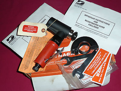 "Dynabrade 18080 3"" (76mm) Dia. Cut-Off Wheel Air Angle Grinder 20,000 RPM."