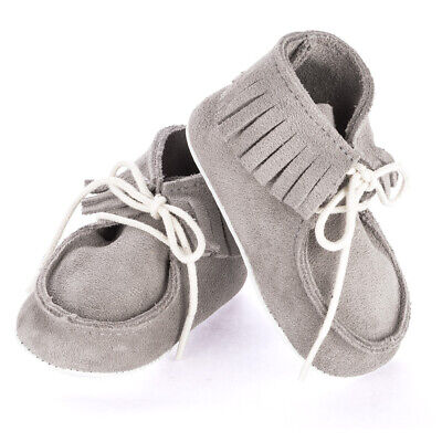 NEW Mon Petit Chausson Dolmen Grey Shoes 6-12 Months