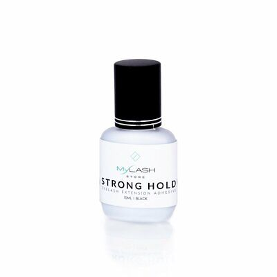 Strong Hold - Eyelash Extension Glue Adhesive  (5-8 Weeks) - Fast Drying - 10ml