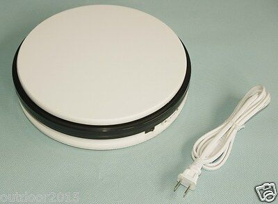 25KG 25cm Heavy Duty Rotary Rotating Display Stand motorized display turntable