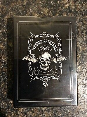 Avenged Sevenfold City of Evil Playing Cards
