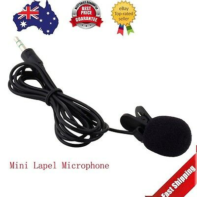 Hot Portable Mini 3.5mm Lavalier Clip Microphone for Lectures Teaching XH