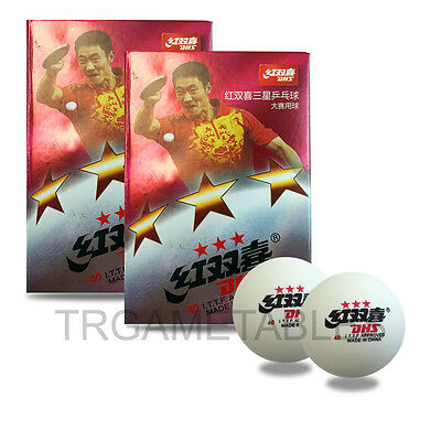12Pcs / 18Pcs DHS 3 Star Table Tennis Ping Pong Competition Balls Local Storage
