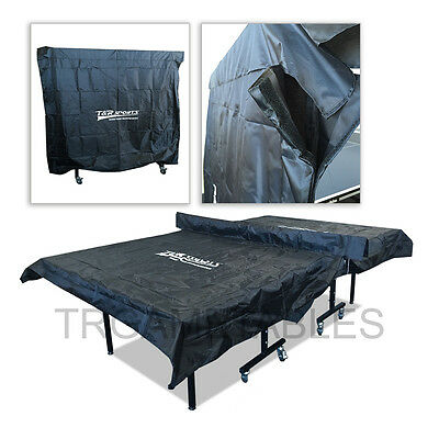 Velcro Indoor Table Tennis Ping Pong Table Cover for Upright Flat Position