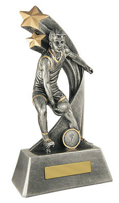 Aussie Rules AFL Football Footy Trophy 200mm FREE Engraving *** 5 IN STOCK ***