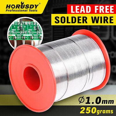 1.0mm Tin Lead  Solder Wire Rosin Core Soldering 2.5% Flux Reel 250 gram 40/60