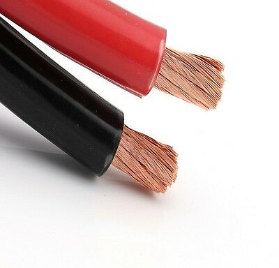 Battery Starter Welding Cable Pvc Flex Red Black 16Mm 25Mm 110 170 Amp Auto Car