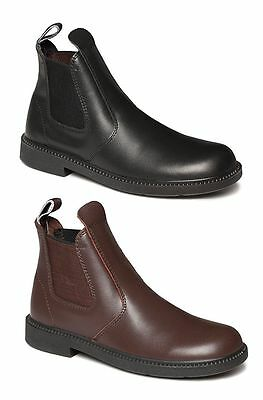 Boys Girls Clarks Kids Youth Reflex School Boots Leather Black Brown Shoes