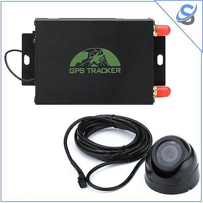 Vehicle GPS Tracker Quad-Band SIM GPS LBS SMS Geo Fencing Real Time Track Camera