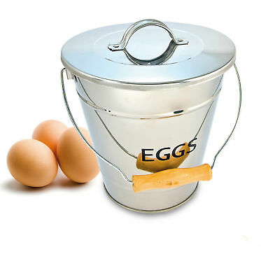 Eddingtons Stainless Steel Egg Storage Pail - 83013