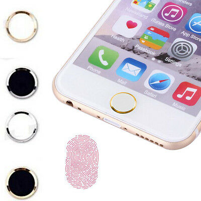 Fashion Metal Aluminum Home Button Keypad Sticker For iPhone 5 5S Accessories