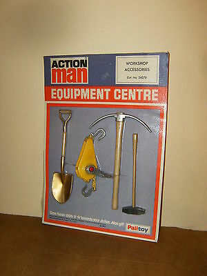 Rare Vintage Hasbro Palitoy - Action Man - Workshop Accessories ( 34278 )- 1977
