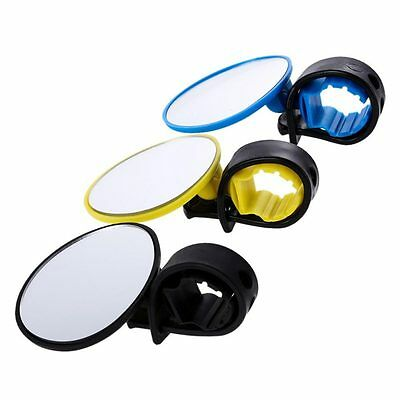 360° Bike Bicycle Cycling Rear View Mirror Handlebar Flexible Safety Rearview
