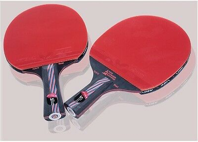 Stiga Table tennis Racket Double Rubber Pimples Ping Pong Paddle Fast Attack