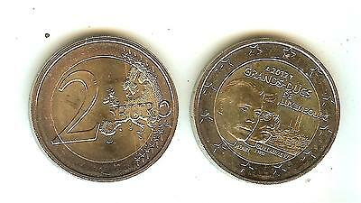 "pièce neuve luxembourg 2 euros 2012 ""guillaume IV"""
