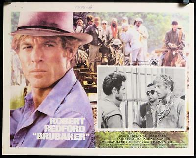 L440 BRUBAKER Mexican Lobby C. '80 warden Robert Redford is the most wanted man