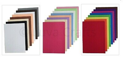 8 Pack Dovecraft Assorted A5 Foam Sheets Bright, Naturals & Pastel Colours