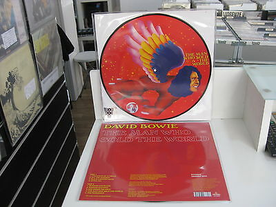 David Bowie Picture Disc The Man Who Sold The World Rsd2016