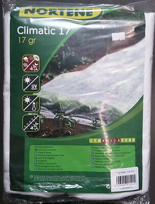 10x1,6m PLANT PROTECTION BLANKET SCREEN FROST WIND WINTER COLD FLEECE SNOW HAIL