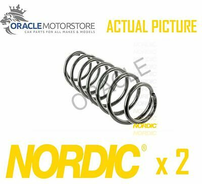 2 x NEW NORDIC FRONT COIL SPRING PAIR SPRINGS OE QUALITY REPLACEMENT - CS471013