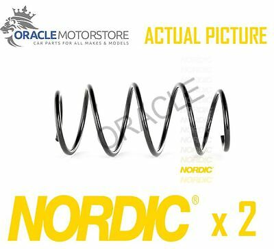2 x NEW NORDIC FRONT COIL SPRING PAIR SPRINGS OE QUALITY REPLACEMENT - CS351018