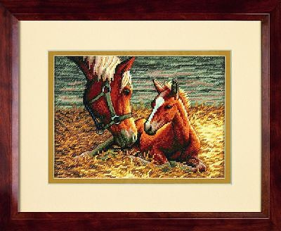 Dimensions - Counted Gold Cross Stitch Kit - Good Morning - Horse - D70-65119