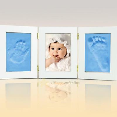 Hot Baby Care Air Drying Soft Clay Baby Handprint Footprint Imprint Kit Casting