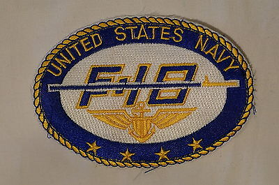 US United States Navy F-18 Naval Aviation Patch