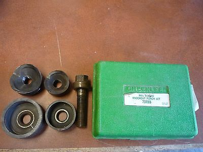 Greenlee Vintage Conduit Knockout Punch Hand Tool Set No. 737BB with Case