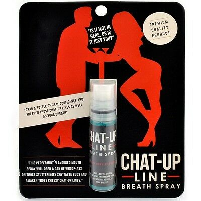 Chat-Up Line Breath Spray