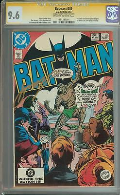 Batman #359 Ss Cgc 9.6 Auto Gerry Conway 1St Killer Croc Cover