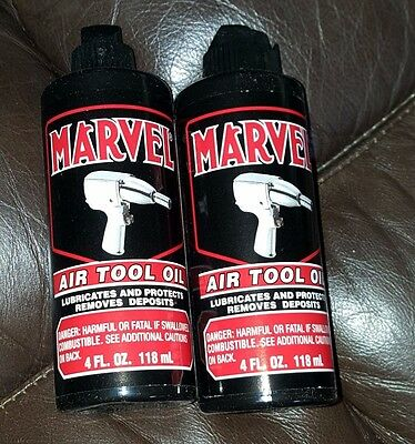2-PACK Marvel Air Tool Oil - FREE SHIPPING!