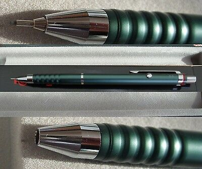 Rotring Esprit double push  pencil 0.5 mm tourmaline green